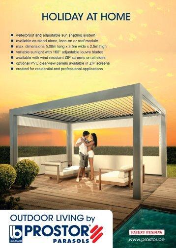 product leaflet b 200 outdoor living indd prostor