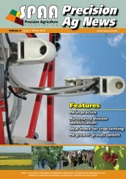 Winter 2010 Volume 6 Issue 3 - SPAA