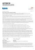 Bidder's Statement - Peabody Energy - Page 5