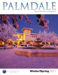 Winter-Spring Guide 2011 - Palmdale