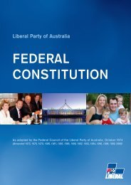 2010 Liberal Party of Australia Federal Constitution