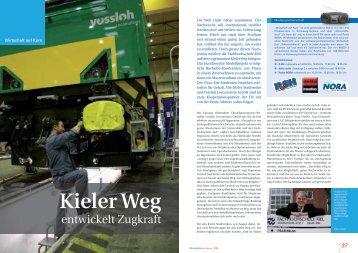 entwickelt Zugkraft - Schleswig-Holstein