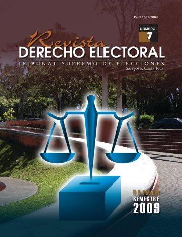 7 - Tribunal Supremo de Elecciones