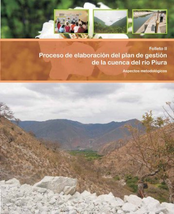 Proceso de elaboración del plan de gestión de la cuenca del río Piura