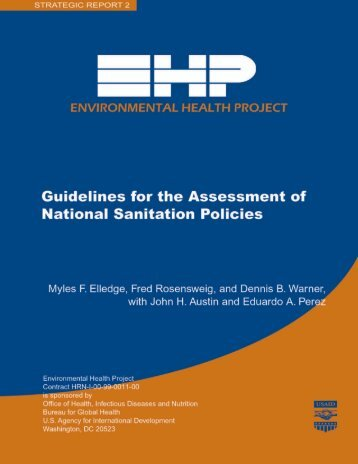 Guidelines for National Sanitation Policies (EHP) - The Water ...