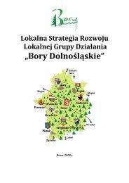 """Stowarzyszenie LGD """"Bory Dolnośląskie"""" (pdf 2600 kB)"""