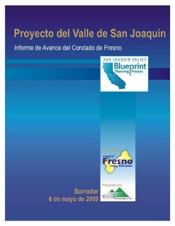 Proyecto del Valle de San Joaquín – Actualización de abril de 2009