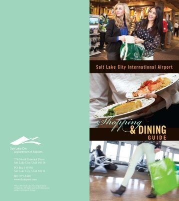 to download the Shopping and Dining Guide - Salt Lake City ...