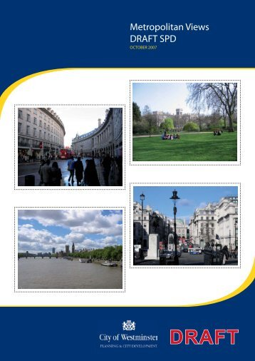 Metropolitan Views Draft SPD - Westminster City Council