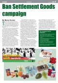 INSIDE: - Palestine Solidarity Campaign - Page 5