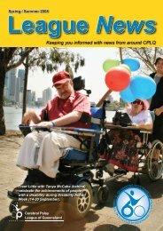 services - Cerebral Palsy League