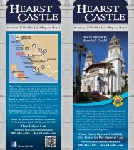 You're Invited to America's Castle! - Hearst Castle