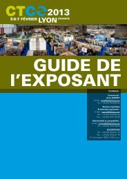 5i6i7 février lyon(france) - CTCO salon professionnel du textile ...