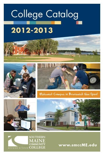 2010 Catalog - My SMCC - Southern Maine Community College