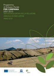 Programma di Sviluppo Rurale PSR CAMPANIA 2007-2013