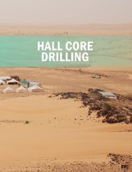 HALL CORE DRILLING - The International Resource Journal