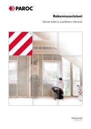 Rakennuseristeet - Paroc.com