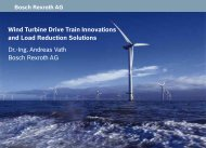 Dr.-Ing. Andreas Vath Bosch Rexroth AG Wind Turbine Drive Train ...