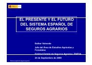 EL PRESENTE Y EL FUTURO DEL SISTEMA ESPAÑOL DE DEL ...