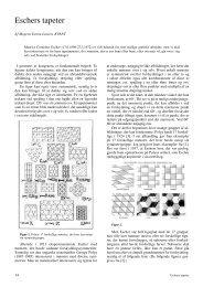 Eschers tapeter - Kvant