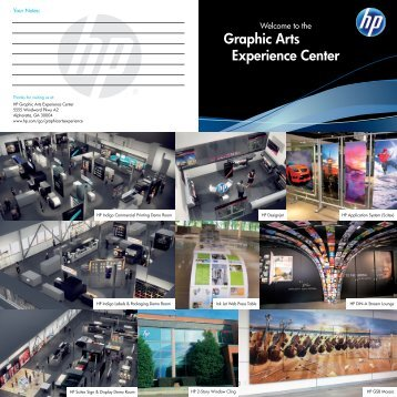 View a Map of the Graphic Arts Experience Center - HP