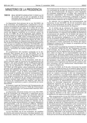 Real Decreto legislativo 7/2004, de 29 de - BOE.es
