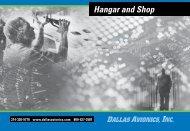 Hangar and Shop - Dallas Avionics