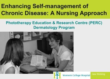Enhancing Self-management of Chronic Disease: A ... - Point Alliance