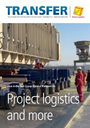 new in the geis group: general Transport ag