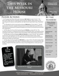April 12, 2010 - Missouri House of Representatives