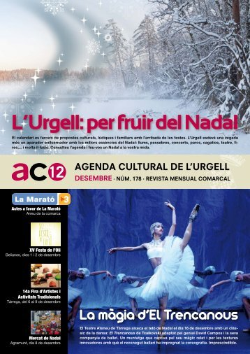 L'Urgell: per fruir del Nadal - Ajuntament de Tàrrega