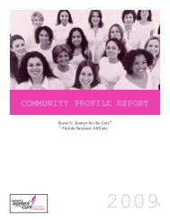 DEMOGRAPHIC AND BREAST CANCER STATISTICS - Geomerx