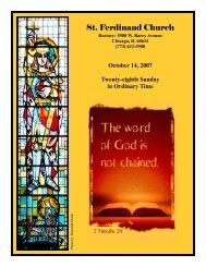 St. Ferdinand Church - Parafia św. Ferdynanda w Chicago