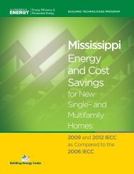 Mississippi - Building Energy Codes