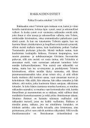 RAKKAUDEN ESTEET - Pekka Ervast