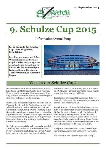 9. Schulze Cup 2015