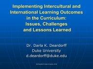 Intercultural Competence - NVAO