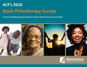 Black Philanthropy Survey - Arizona Community Foundation