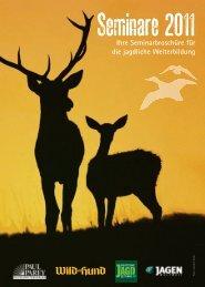 Seminare 2011 - Hubertus Fieldsports
