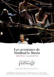 Les aventures de Sindbad le Marin - Théâtre du Passage