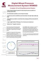 Digital Wheel Pressure Measurement System WSMSD - Chell ...