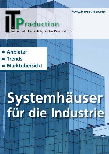 Systemhäuser für die Industrie - IT&Production