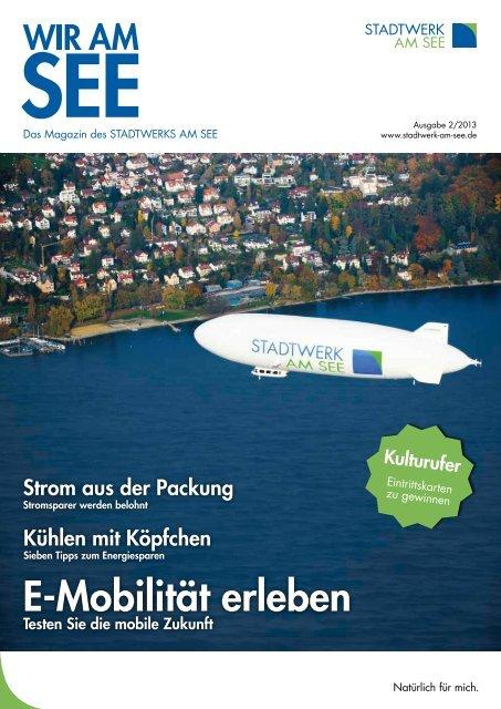 Kundenzeitung herunterladen - Stadtwerk am See