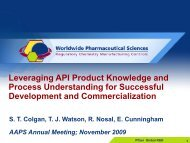 Leveraging API Product Knowledge and Process Understanding for ...