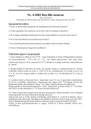 Nr. 4-2002 Den lille neutron - Aktuel Naturvidenskab