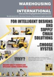 Aug Issue - Warehousing & Logistics International