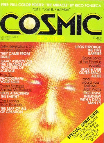 article in Cosmic Frontiers - Square Circles Publishing