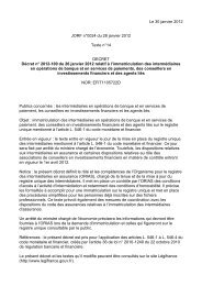 Le 30 janvier 2012 JORF n°0024 du 28 janvier 2012 Texte ... - Anacofi