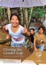 Closing the Gender Gap - Gender Climate