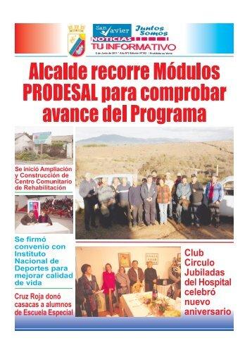 periódico - I. Municipalidad de San Javier